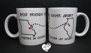 Best Mugs Best Friends Forever Mugs Bff Miss You State And City Mugs