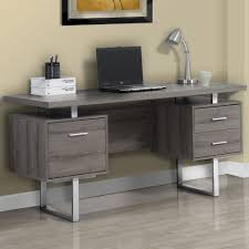 Grey Office Desk Grey Wood Office Desk Office Desk Ideas