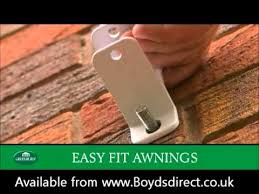 How To Install A Retractable Awning Greenhurst Easy Fit Patio Awnings The U0027how To U0027 Installation Guide