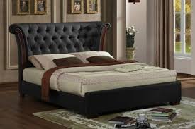 Luxury Bed Frame Chesterfield Winged Luxury Bed