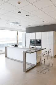 kitchen inspiring ideas with white wooden remodel gray wall