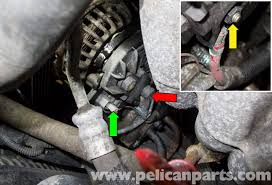 volvo v70 alternator replacement 1998 2007 pelican parts diy