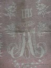 imagenes religiosas a crochet diseño mariano crochet religioso pinterest filet crochet