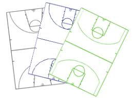 basketball court diagrams and templates free printable
