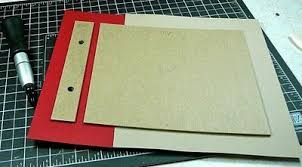 post bound photo album tutorial how to make a post bound album geeking juxtapost