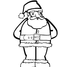 coloring pages santa claus free christmas coloring pages