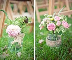 wedding flowers jam jars rustic chic wedding flowers baby s breath is back white