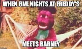 Barney Meme - freeky barney imgflip