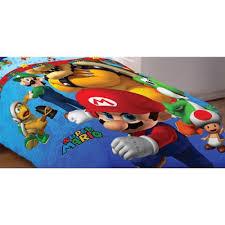 Brothers Bedding Amazon Com Super Mario Full Bedding Set Fresh Look Comforter