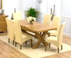 All Wood Dining Room Sets by Dining Table Extending Oak Dining Table And 8 Chairs Solid Oak