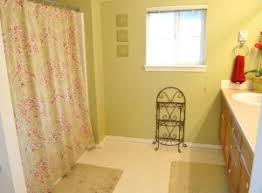 Regular Curtains As Shower Curtains Turn A Bed Sheet Into A Shower Curtain Make And Takes