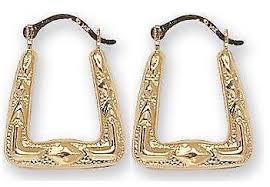 creole earrings silver creole earrings ebay
