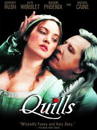 quills movie video quills movie trailer and videos tv guide