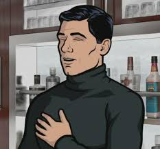 Archer Meme Generator - archer laughing blank template imgflip