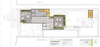 national club rooftop patio floor plan bar rooftop pinterest