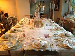 how to set up a table for thanksgiving dinner home interiror and