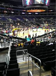 Staples Center Seat Map Staples Center Section 114 Row 20 Seat 19 Los Angeles Sparks