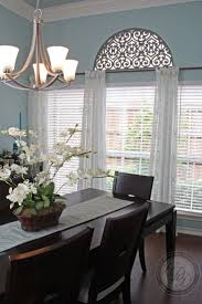formal dining room window treatments 13 best curtains images on pinterest arch window treatments