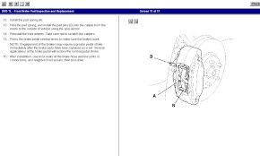 2005 acura tl instructions on how to change front brake pads