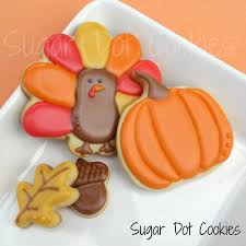 thanksgiving sugar cookies custom decorated frederick md