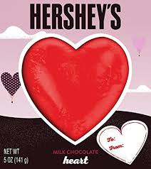 heart shaped chocolate hershey s heart shaped chocolate solid milk chocolate