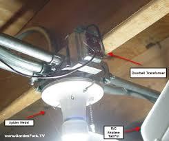 replaced doorbell diy living gardenfork tv