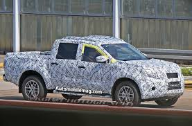 future mercedes truck mercedes benz glt pickup truck spied at testing facility