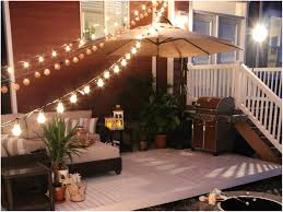 Patio String Lighting by Backyards Compact How To Hang Patio String Lights 119 In