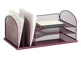 safco onyx mesh desk organizer amazon com safco products 3254we onyx mesh desktop organizer with