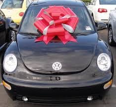 new car gift bow the owner defense wait that s my car raskopf office