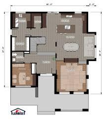 designer zen contemporain lap0528 maison laprise maisons