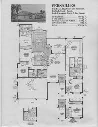 Versailles Floor Plan by Country Glen Floor Plans And Community Profile Homes For Sale