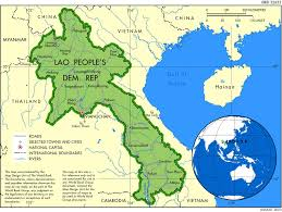 Laos World Map by Laos Makes Substantial Progress In Human Development Neri Report