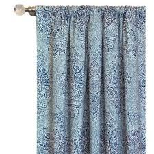 Teal Damask Curtains 91 100 Width Damask Curtains Drapes You Ll Wayfair