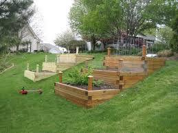 House On Slope Building Raised Garden Beds On A Slope Home Design And Decoration