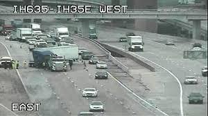 Dallas Traffic Maps by Semi Involved In Crash Shutting Down I 635 Dallas Police Nbc 5