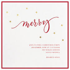christmas lunch invitation christmas invitations online at paperless post