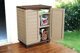 Plastic Outdoor Storage Cabinet Wooden Garden Storage Box Image For Plastic Outdoor Storage