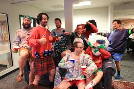 win every ugly christmas sweater competition ever chubbies