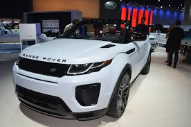 convertible toyota 2017 2017 land rover range rover evoque convertible preview video