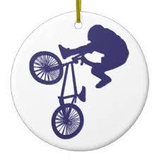 bmx ornaments keepsake ornaments zazzle
