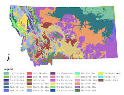 Map Of Montana State by Montana Native Plant Provisional Seed Zones Jpg