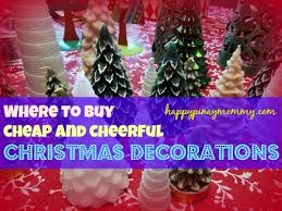where to buy cheap decorations in the philippines