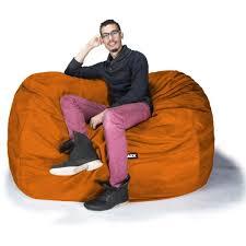 jaxx sofa saxx 5 5 foot jaxx lounger comfy bean bag chairs
