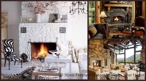 Design Your Home Interior 25 Interior Fireplace Designs