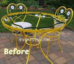 Antique Wrought Iron Outdoor Furniture by Magnificent Vintage Wrought Iron Outdoor Furniture Vintage Wrought