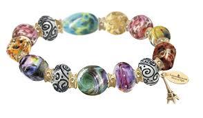 the bradford exchange kinkade colors of bracelet