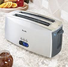 Breville 4 Slice Smart Toaster Breville Ikon Lift And Look Toaster 4 Slice The Green Head