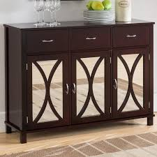 sidell wood door and drawer console table u0026 reviews birch lane