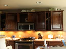 kitchen recessed lighting under kitchen cabinet design ideas